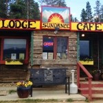 Sundance Cafe and Lodge Front