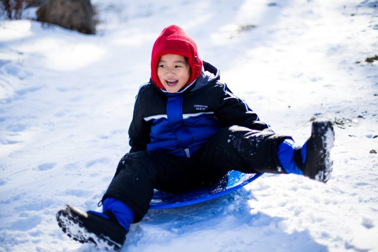 cooper-le-sledding - unsplash